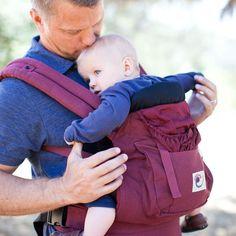 ERGObaby | Original Baby Carrier - Cranberry    For Mat