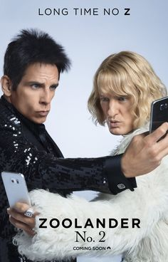 Zoolander 2 (PG-13) Opens on Friday, February 12 Starring: Ben Stiller, Owen Wilson, Penelope Cruz Derek and Hansel are modelling again when an opposing company attempts to take them out from the ...