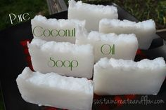Coconut Oil Soap. Make your own coconut oil soap. Complete directions on how to make in your crockpot. This looked like fun and know how good coconut oil is for skin!