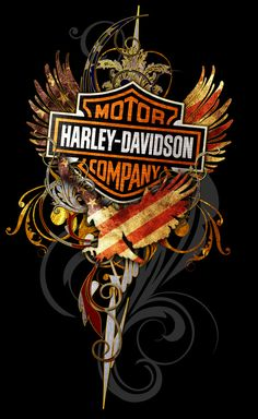 Resultado de imagem para harley davidson art prints for t -shirts