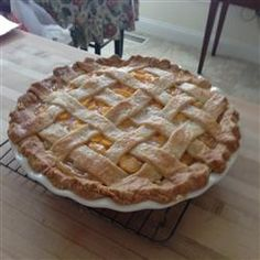 Chef John's Peach Pie Allrecipes.com