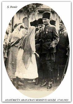 Atatürk Mersin'de. 17.03.1923