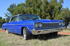 The complete 1964 Chevy Impala SS RHD
