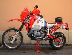 BMW HPN /BMW R 80 GS Gs 1200 Adventure, Rallye Raid, Motorcycle Rallies, Bmw Boxer, Motorcycle Types, Bmw Cafe Racer, Honda Motorcycles, Super Bikes, Cool Bikes