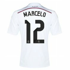 Real Madrid CF 2014- 2015 Season Marcelo  12 Home Jersey Real Madrid 2014 209ef84f6f492