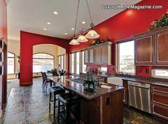 LHM Seattle - Modern Luxury Home #LuxuryHomes #Modern #Decor #Kitchen