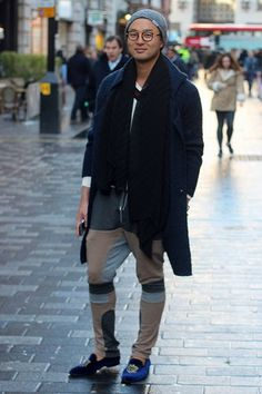 London Street Style 2015: January Blues
