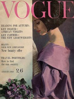UK Vogue-August 1960 # Pinterest++ for iPad #