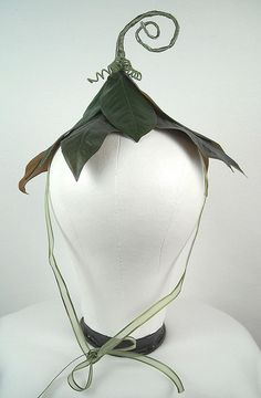 Flower Fairy Hat by On Gossamer Wings, via Flickr