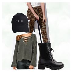 """""""Militar Grunge"""" by bela-carapinheiro-valimaa on Polyvore featuring moda"""
