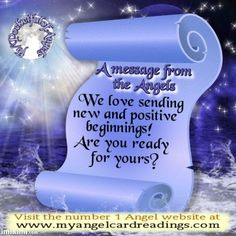 Find FREE Angel message cards by CLICKING HERE http://www.myangelcardreadings.com/freeangelmessages … Come and get YOUR message!