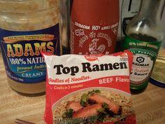Top Ramen Recipes, Vegan Recipes, Ramen Hacks, Dinner For Two, Wonderful Recipe, Creamy Sauce, Tasty Dishes, Bon Appetit, Food To Make