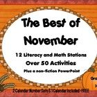 The Best of November is jam-packed with activities to complement your 1st or 2nd grade curriculum. This pack contains more than 50 opportunities fo...