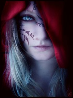 Fantasy. The marks made by THE WOLF. The ones he carefully carved into my skin. The ones he knew i would carry forever. RED RIDING HOOD