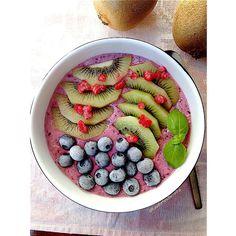 My Casual Brunch: Smoothie de frutos vermelhos e aveia