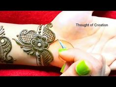 Arabic Mehndi Design -Unique and New |Thought of Creation - YouTube