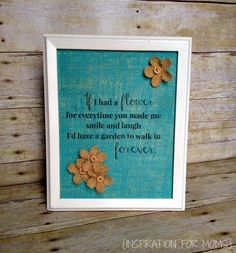 Hi there everyone! I'm so happy to be back chattin' with you! Do you love the look of burlap prints? If you do, this is your lucky day because I'm going to teach you how to make your very own right...