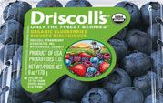 I love Driscoll berries! Check out their availability calendar too Grow Organic, Healthy Nutrition, Blueberry, Cart, Berries, Calendar, Foods, Canning, Superhero