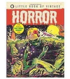 Little Book Of Vintage Horror - Cartoon Museum Shop Horror Cartoon, Horror Comics, Cartoon Museum, Comic Art, Comic Books, Best Zombie, Vintage Horror, Little Books, Magazine Art