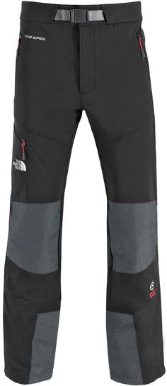 TNF Black Apex Mountain Pant - Intensely technical softshell trousers designed to excel anywhere that mobility and protection are required. Think ice climbing, mountaineering, ski touring – they'll do it all. Outdoor Pants, Outdoor Wear, Outdoor Outfit, Tactical Pants, Tactical Clothing, Trekking Outfit, Climbing Outfits, Country Casual, Winter Gear