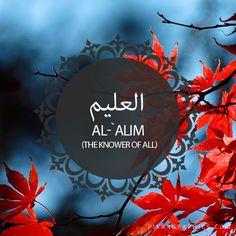 Al-`Alim,The Knower of All-Islam,Muslim,99 Names