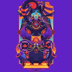 En lo más fffres.co: Danilo Laynes: ilustración a todo color made in Perú: Danilo Laynes, más conocido como Laynnes, es ilustrador un…