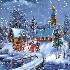 Animated Christmas Tree For Desktop 2