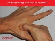 Acupressure Migraine Relieve Your Headache and Stress With Acupressure in 30 Seconds Hand Pressure Points, Migraine Pressure Points, Sinus Pressure Relief, Sinus Migraine, Migraine Relief, Sinus Headaches, Asthma Remedies, Natural Headache Remedies, Allergy Remedies