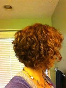 curly reverse bob hairstyle - - Yahoo Image Search Results