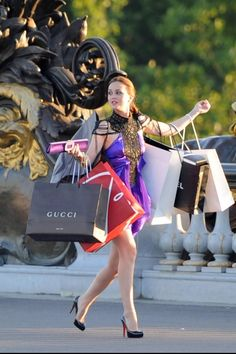 Shopping Blair Waldorf style