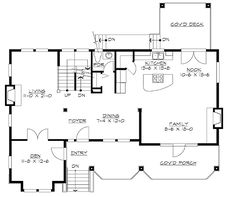 For the Front-Sloping Lot - 23060JD | Craftsman, Northwest, Narrow Lot, Photo Gallery, 2nd Floor Master Suite, CAD Available, Den-Office-Library-Study, Media-Game-Home Theater, PDF, Split Bedrooms, Sloping Lot | Architectural Designs