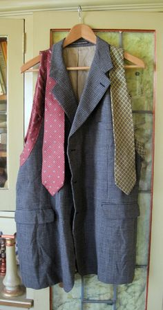 Stuff You Can't Have: Upcycled Man's Suit and Ties