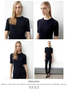 Next Models NY F/W 14 Polaroids/Portraits