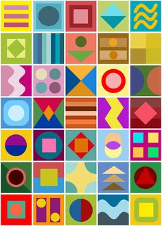 Geometric Shapes Art, Abstract Geometric Art, Abstract Shapes, Simple Canvas Paintings, Abstract Digital Art, Generative Art, Shape Art, Elements Of Art, Painting Patterns