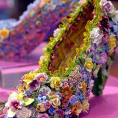 Mosaic heels!