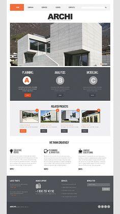 Bootstrap Responsive Website Template #43329