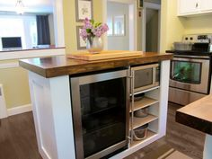 Kitchen Islands For Small Kitchens ~ http://modtopiastudio.com/kitchen-islands-for-small-spaces/