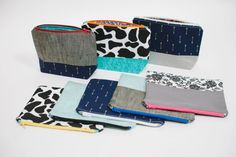 Zippered Pouches | A Zippered Pouch Tutorial | How to make a Zippered Pouch