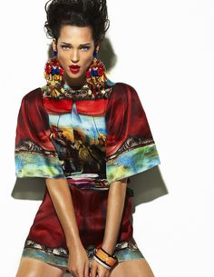 carla crombie by laurence laborie for l'officiel maroc