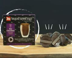 🇪🇸 Las cápsulas de Maxespresso contienen la porción exacta de nuestro café insignia, tostado y recién molido 🇺🇸 The Maxespresso capsules contain the exact portion of our distinctive coffee, toasted and freshly grinded