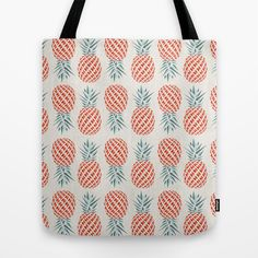 BUY: http://society6.com/product/pineapple-onq_bag?curator=4thecrime