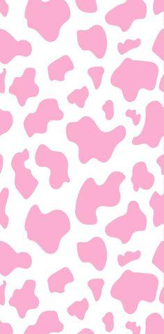 #pink #aesthetic #wallpaper #lockscreen #cow #cute #iphone #freetoedit   Cow print wallpaper, Cow wallpaper, Iphone wallpaper landscape