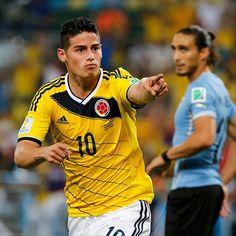 コロンビアが初のベスト8進出 2ゴールのハメス・ロドリゲスが得点ランク単独トップに浮上(スポーツナビ) -ブラジルワールドカップ特集 - スポーツナビ