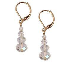 Kirks Folly Carrie Lever Back Earrings — QVC.com