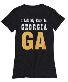 Heart In Georgia - Women's Tee