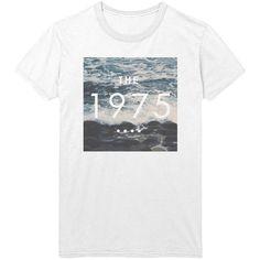The 1975 Ocean Logo T-Shirt - 1975 band Indie Rock Music Shirt /... ($15) ❤ liked on Polyvore featuring tops, t-shirts, shirts, band merch, folding shirts, checkered shirt, unisex t shirts, logo t shirts and loose t shirt