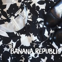Banana Republic Silk Shift Dress  Super cute and light Banana Republic silk shift dress! In excellent condition with no visible wear whatsoever ☺️ Would be excellent with wedges and a cute purse! ✨ 55% Rayon // 45% Silk ✨ No Trades!  ❗️ But feel free to make a reasonable offer!  ❗️ Banana Republic Dresses Midi