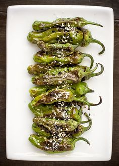 Recipes for Shishito Peppers