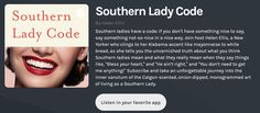 The Southern Lady Code Podcast Helen Ellis, Southern Ladies, Working Mother, Say Something, Michelle Obama, Banks, Believe, Told You So, Coding