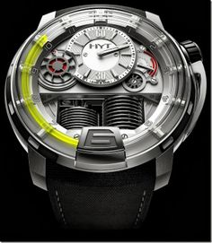 Watches from the Future - Titanium Technology / TechNews24h.com